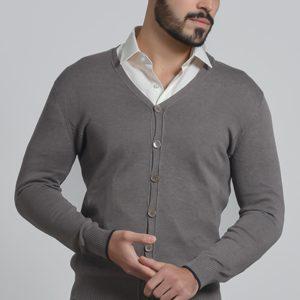 Muški džemper na raskopčavanje