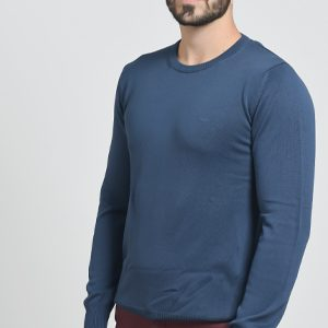 Muški džemper okruglog izreza
