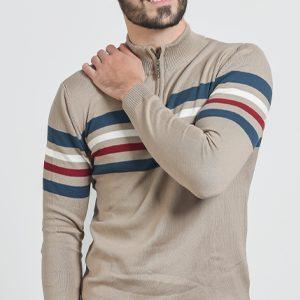Muški džemper polu rajsferšlus